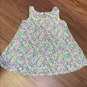 Floral knit baby gap dress